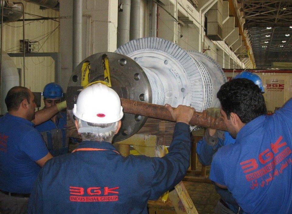 تعمیر روتر اچ پی نیروگاه ناصریه عراق